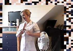 british nurse stockings